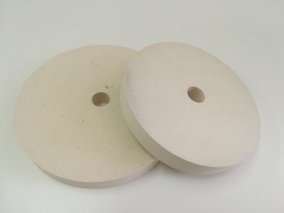 Felt Räder mit einer Öffnung - mittelhart (0,56 g/cm3)